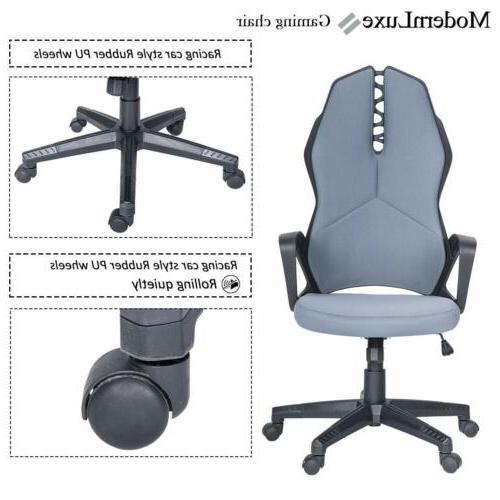 Gaming Chair Racing Leather Desk