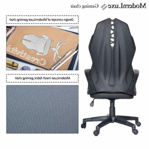 Gaming Chair Computer PC Racing Leather Desk Chair Back
