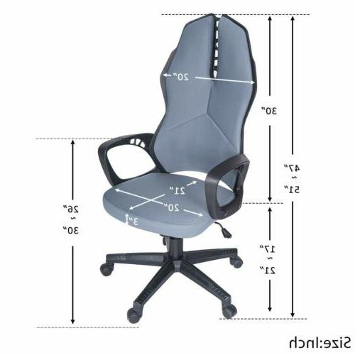 Gaming Racing Leather Desk Chair