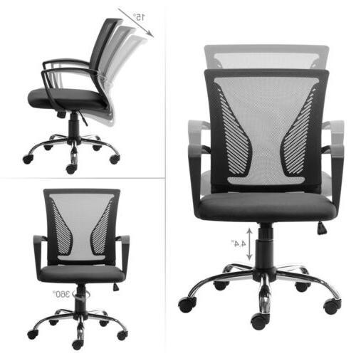 Office Chair Computer Seat Swivel Mesh