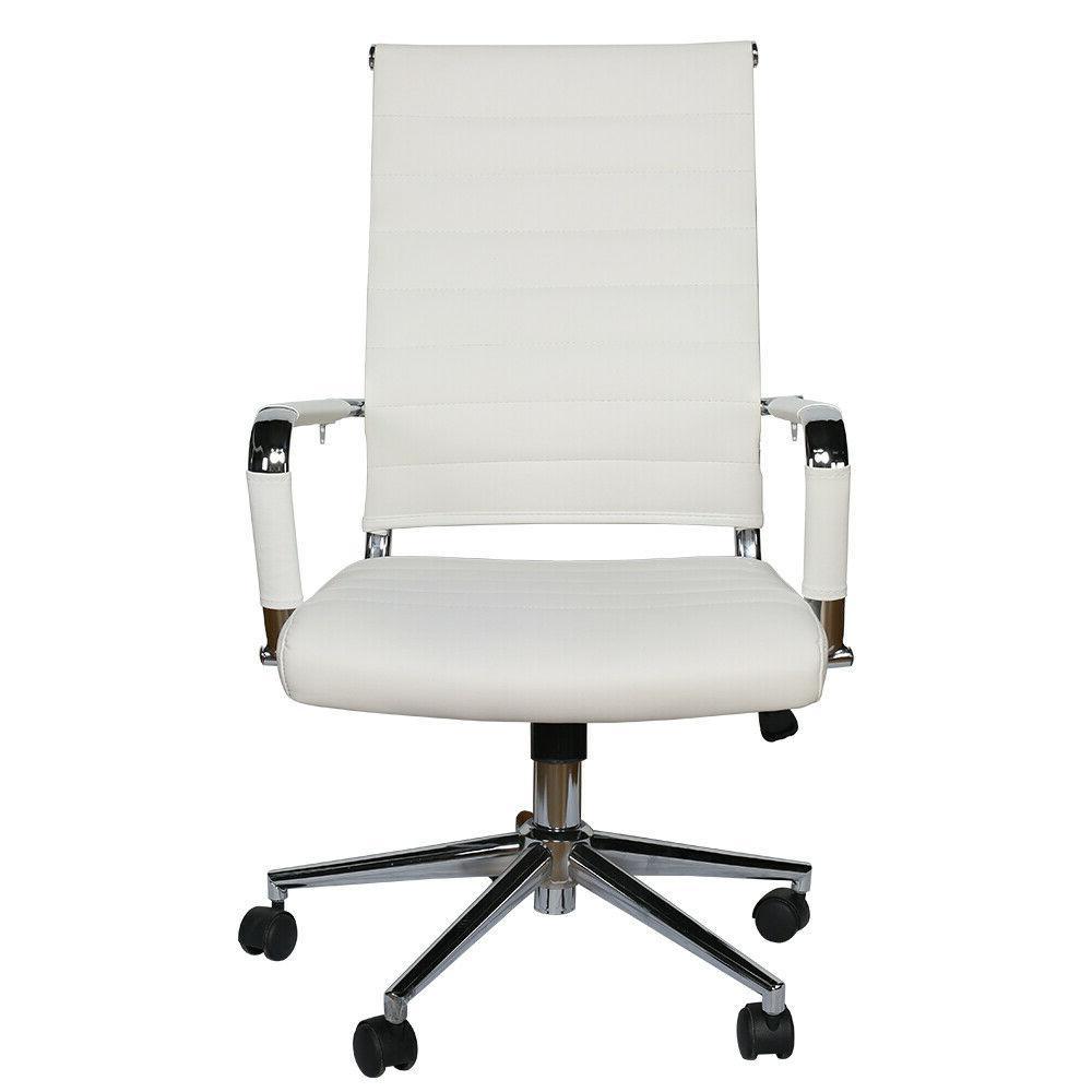 office chair high back pu computer height