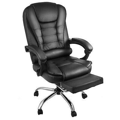 Executive Office Racing Gaming High Back Recliner W/