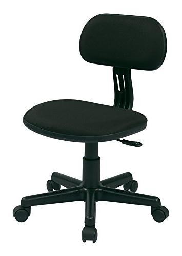 osp designs task chair black