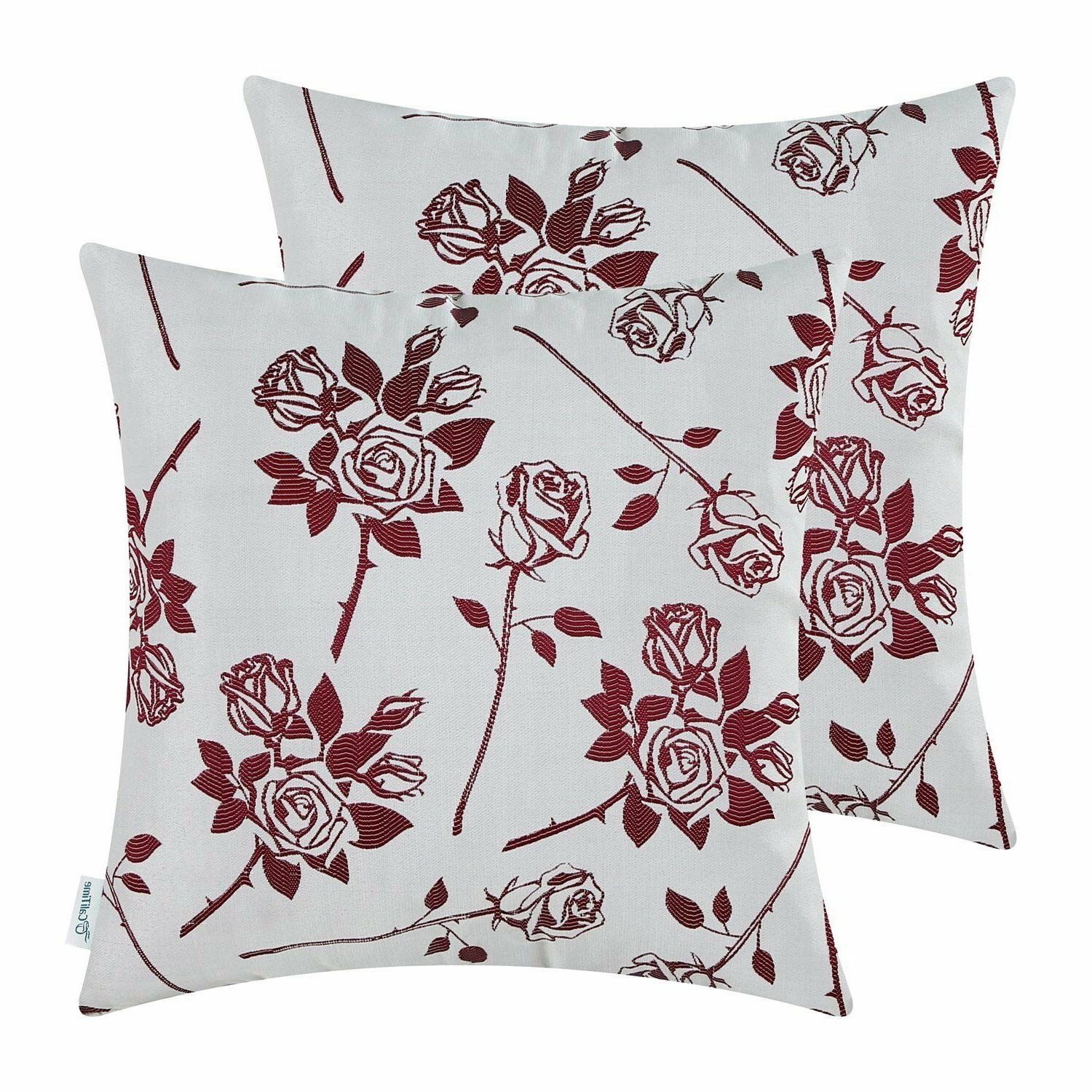 pack of 2 cushion covers throw pillow
