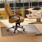 Desk Mat For Carpet Protector Plastic Office Chair Floor 46x
