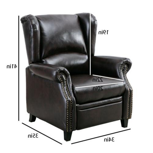 ELECTRIC RECLINER SOFA LOUNGE FURNITURE ARMCHAIR
