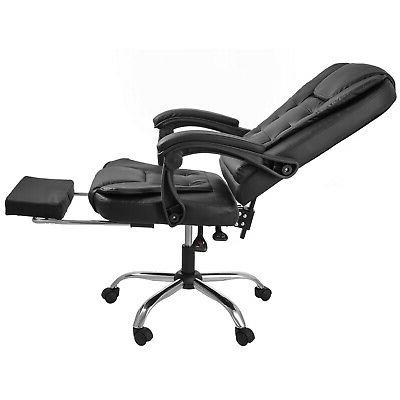Gaming Leather High Recliner W/