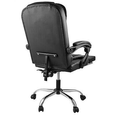 Executive Office Gaming Leather Back Recliner