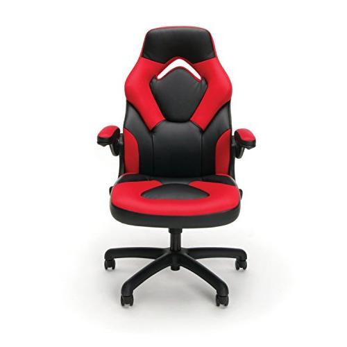 Essentials Style Gaming - Ergonomic Swivel Gaming Red