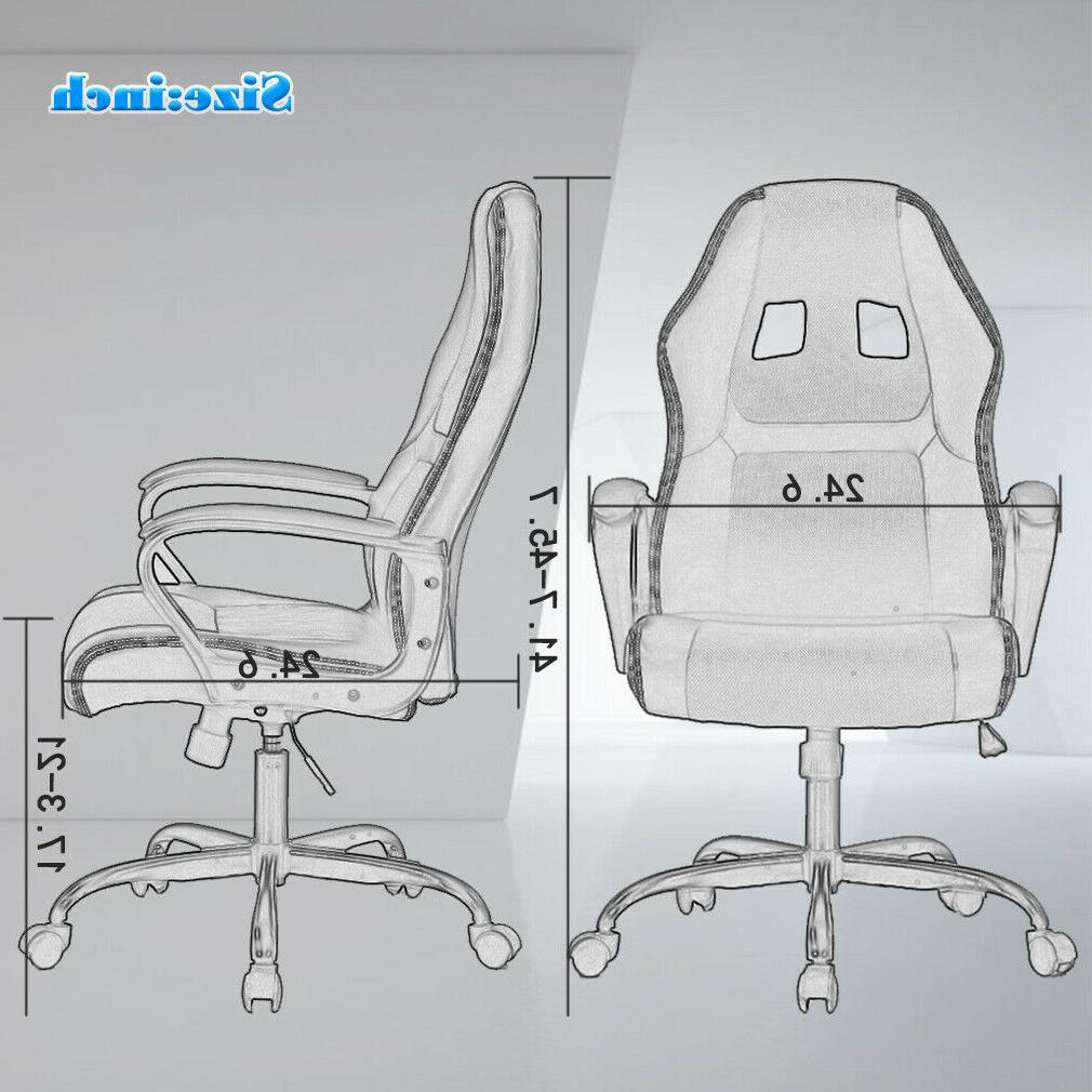 Office Chair Gaming Desk Leather Chair V61
