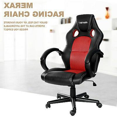 SALE! Merax Chair Back Leather Mesh Ergonomic Office Chair
