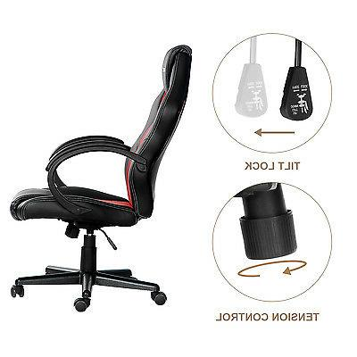 SALE! Chair Back Leather Mesh Ergonomic Office Chair