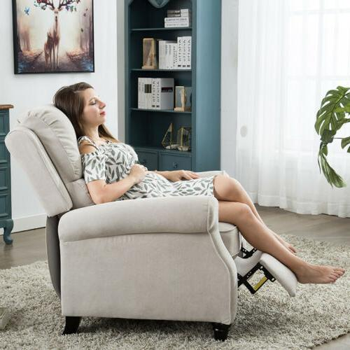Recliner back Sofa Chaise Seat