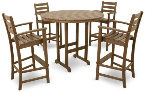 Trex Furniture Plastic Monterey Bar Height Chair