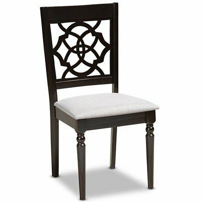 Baxton Studio Espresso Dining Chair