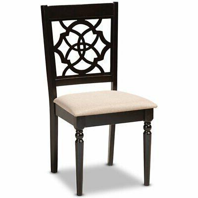 Baxton Studio Espresso Brown Dining Chair