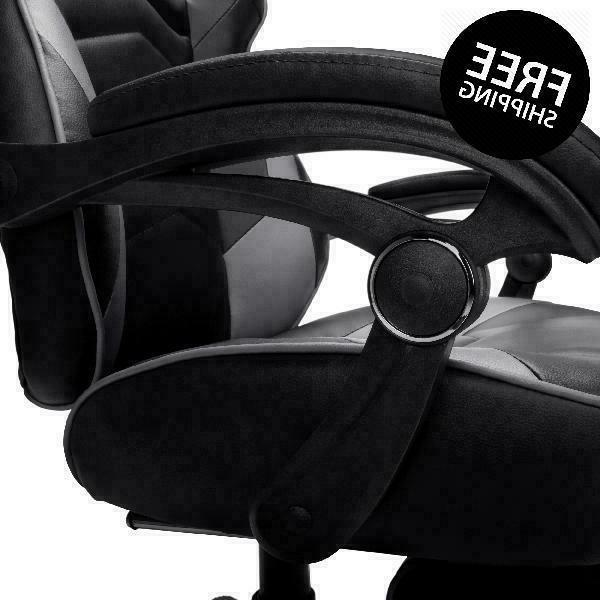 Respawn Racing Style Gaming Reclining Leather Chair Fo