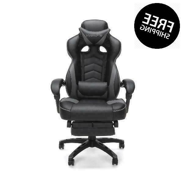 Respawn 110 Racing Gaming Chair, Reclining Ergonomic Leather With