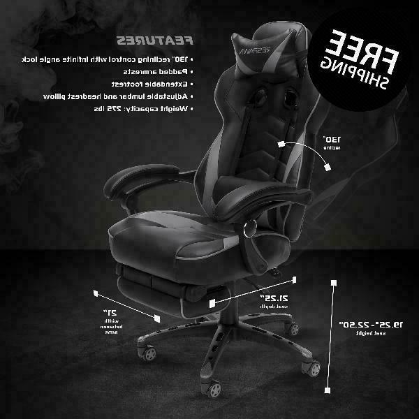 Respawn 110 Gaming Chair, Reclining Leather Chair