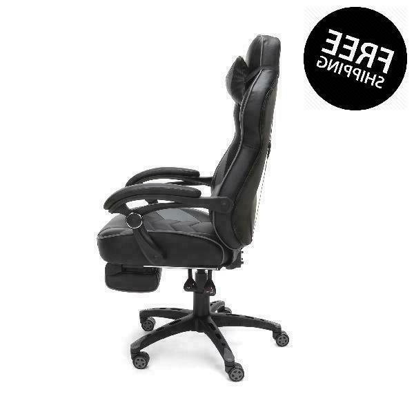 Respawn Racing Gaming Chair, Reclining Ergonomic Leather With Fo