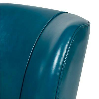 Accent Chair - Teal Blue
