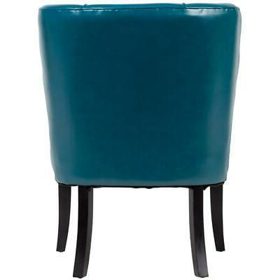 Riviera Mid-Century Accent Teal Blue