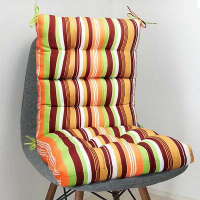 Hot Outdoor Dining Chair Cushion-High Solid Chair Cushion Rebound Foam
