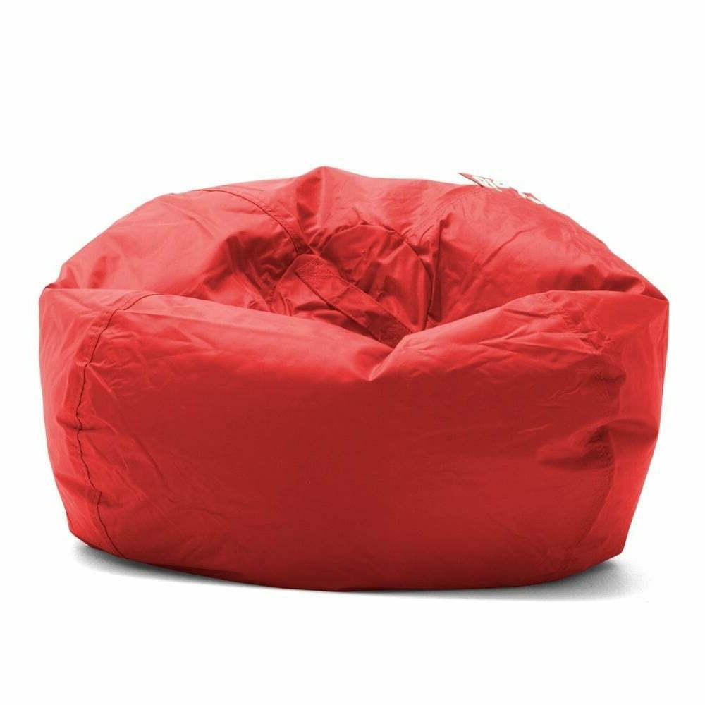 Big Joe Round Bag Chair Teens Kids Cozy Seat Gaming