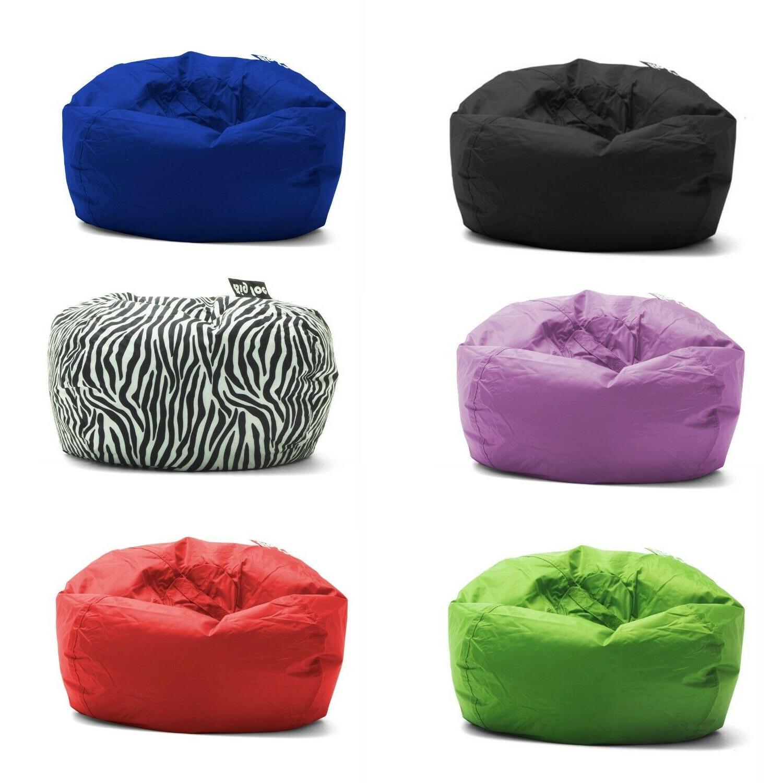 round bean bag chair multiple colors teens