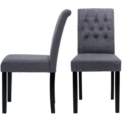 Fabric Dining Side Upholstered