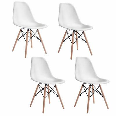 set of 4 mid century modern dsw