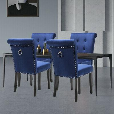Dining Chair Tufted Parsons Kitchen Formal