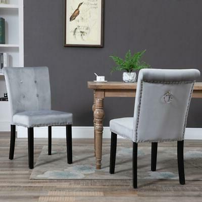 Set Fabric Velvet Accent Chair US