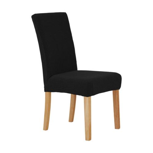 Deconovo Spill Proof Black Chair Covers Modern Chair Slip Co