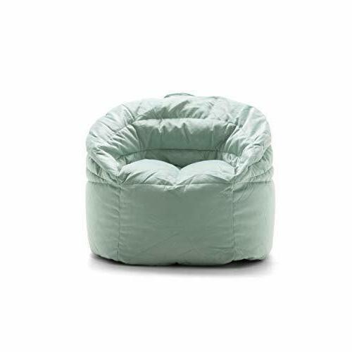 Big Joe Stack Chair, Turquoise - 26 x