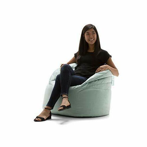stack chair turquoise plush bean bag 24