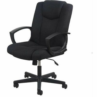 swivel upholstered task chair