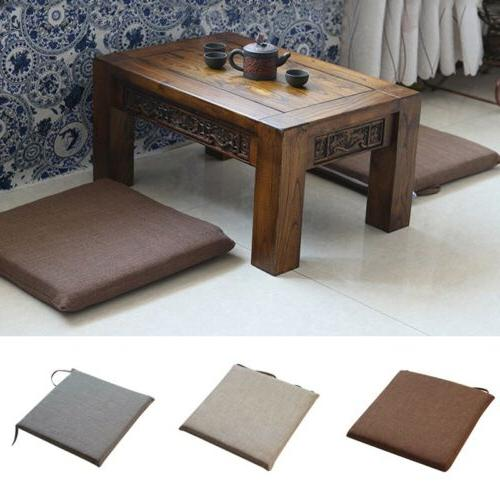Tatami Mat Tie On Chair Seat Cushion Pads Back Pure