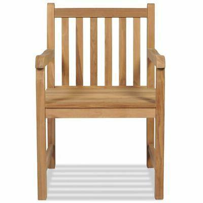 vidaXL Outdoor Chair Wooden Backyard