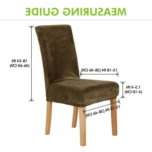 Deconovo Dining Chair Covers Strench Chair Slipcovers