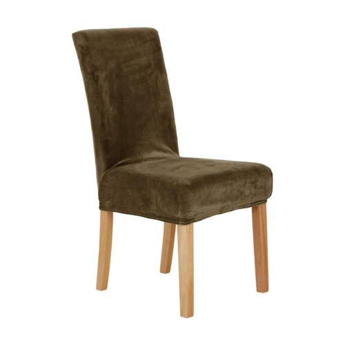 universal dining chair covers strench velvet plush