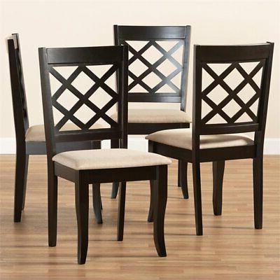 Baxton S Espresso Dining Chair
