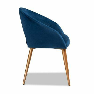 Baxton Blue Upholstered Dining