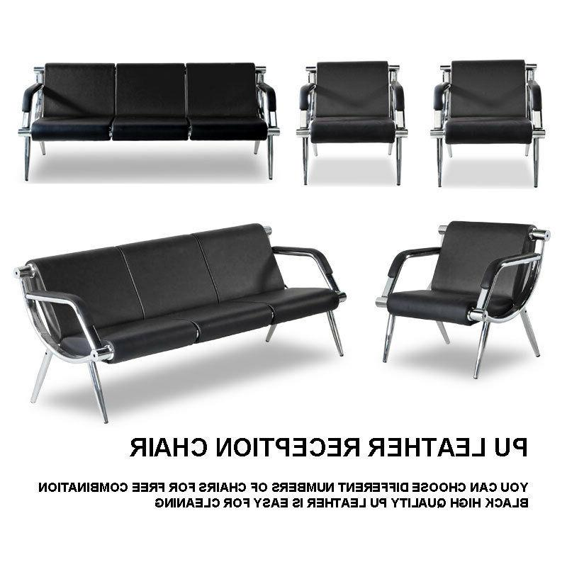 waiting room chair reception pu leather office