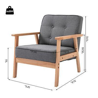 Wood Modern Arm Chair
