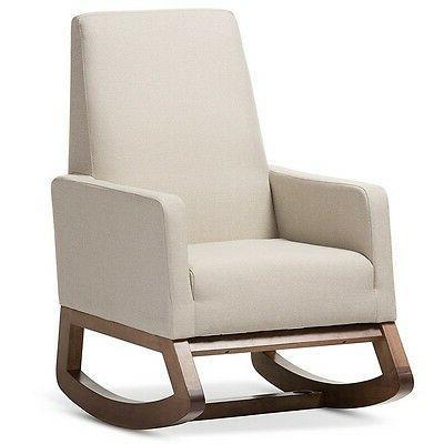 Yashiya Light Upholstered Rocking Chair