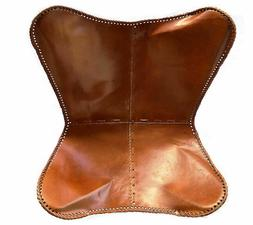 leather Butterfly chair cover for home furniture