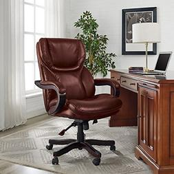 Leather Executive High Back Office Chair Big Tall Ergonomic