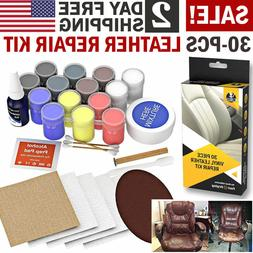 Leather Repair Kit Filler Compound Color Restorer Couches Ca