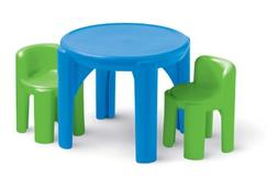 Little Tikes Bold 'n Bright Table and Chairs Set